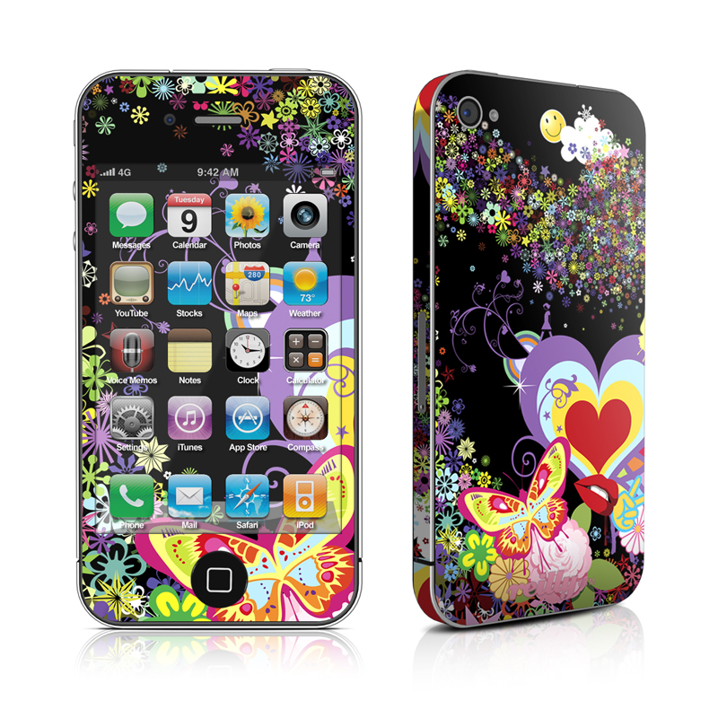 Flower Cloud iPhone 4s Skin