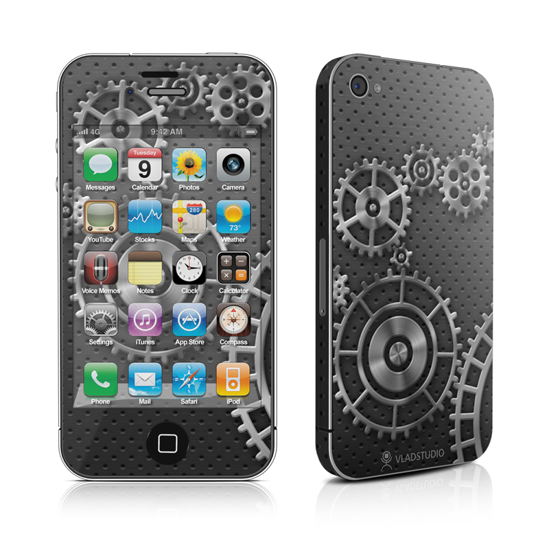 Gear Wheel iPhone 4 Skin