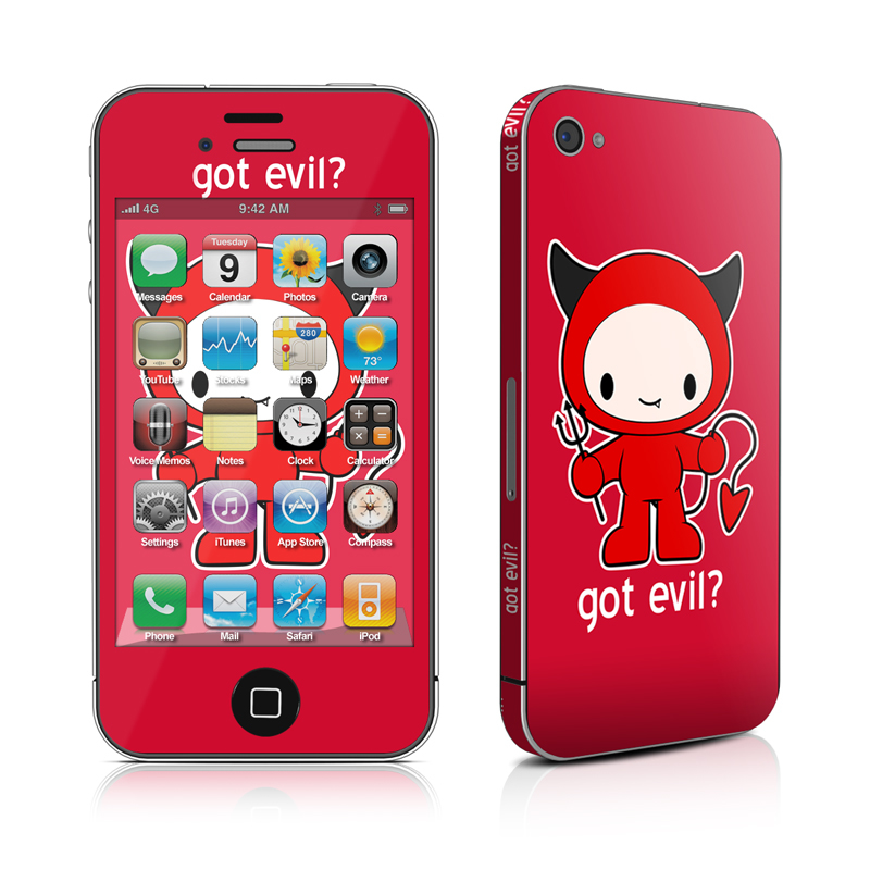 Got Evil iPhone 4s Skin