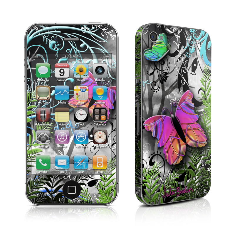 Goth Forest iPhone 4 Skin