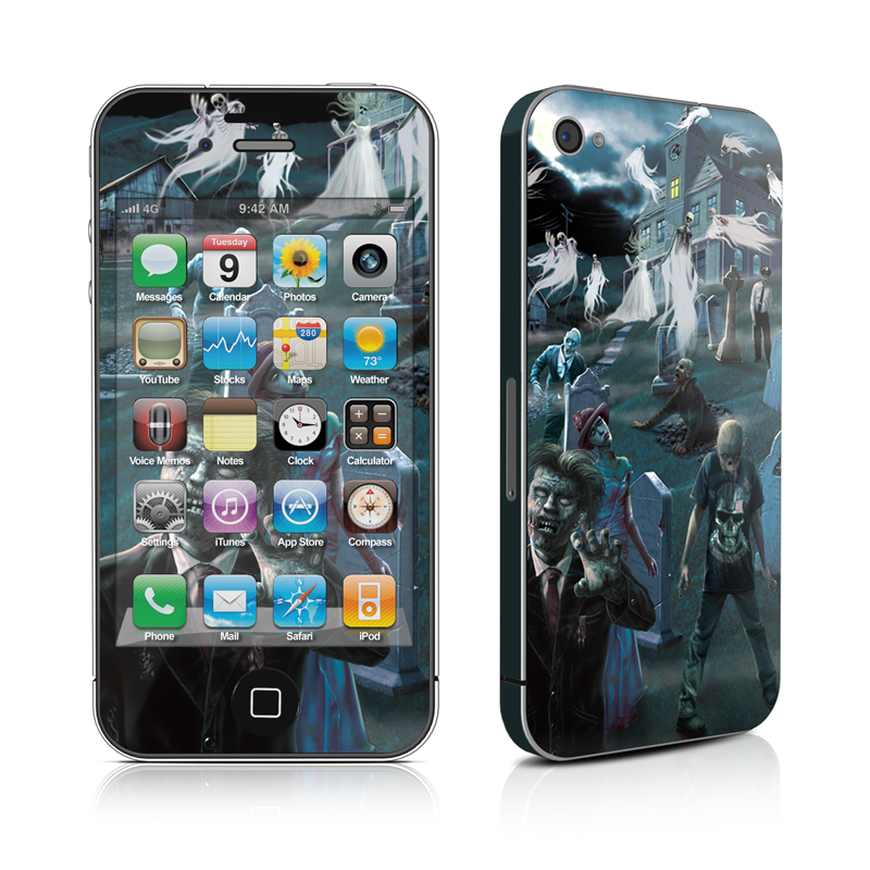 Graveyard iPhone 4s Skin