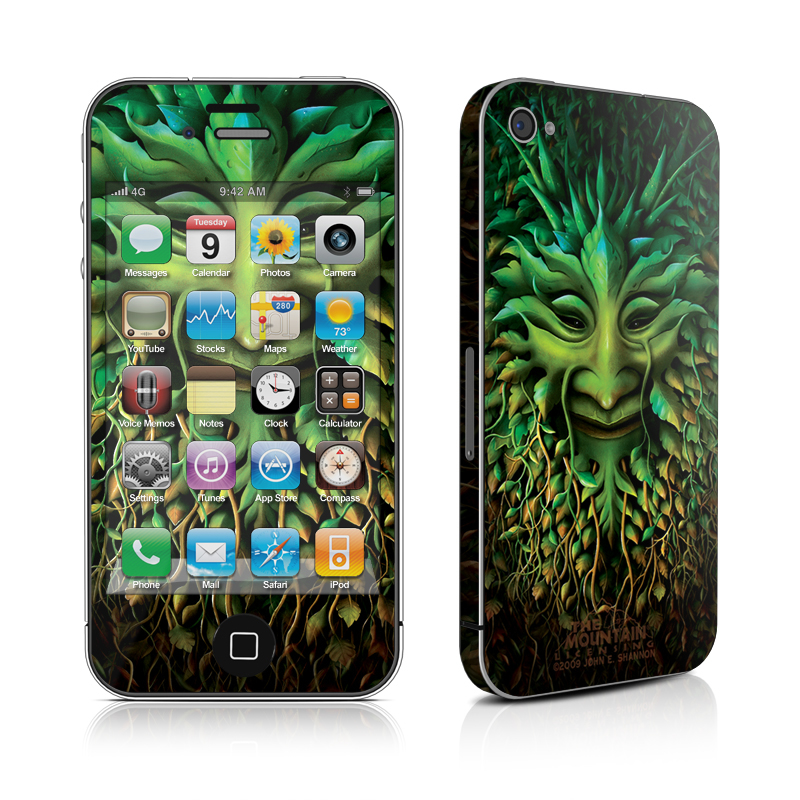 Greenman iPhone 4s Skin