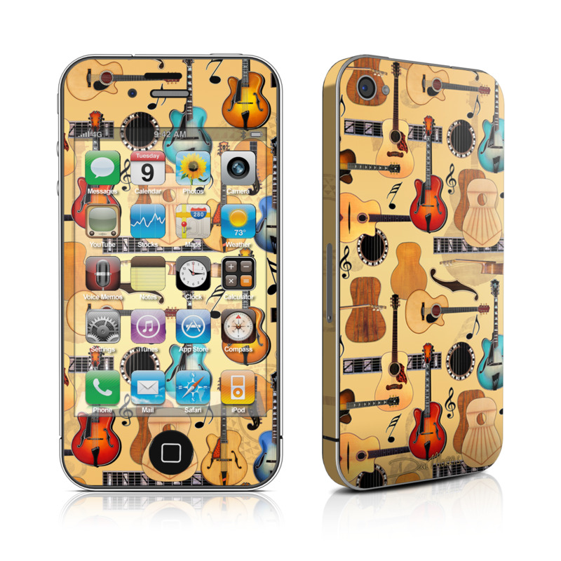 Guitar Collage iPhone 4s Skin