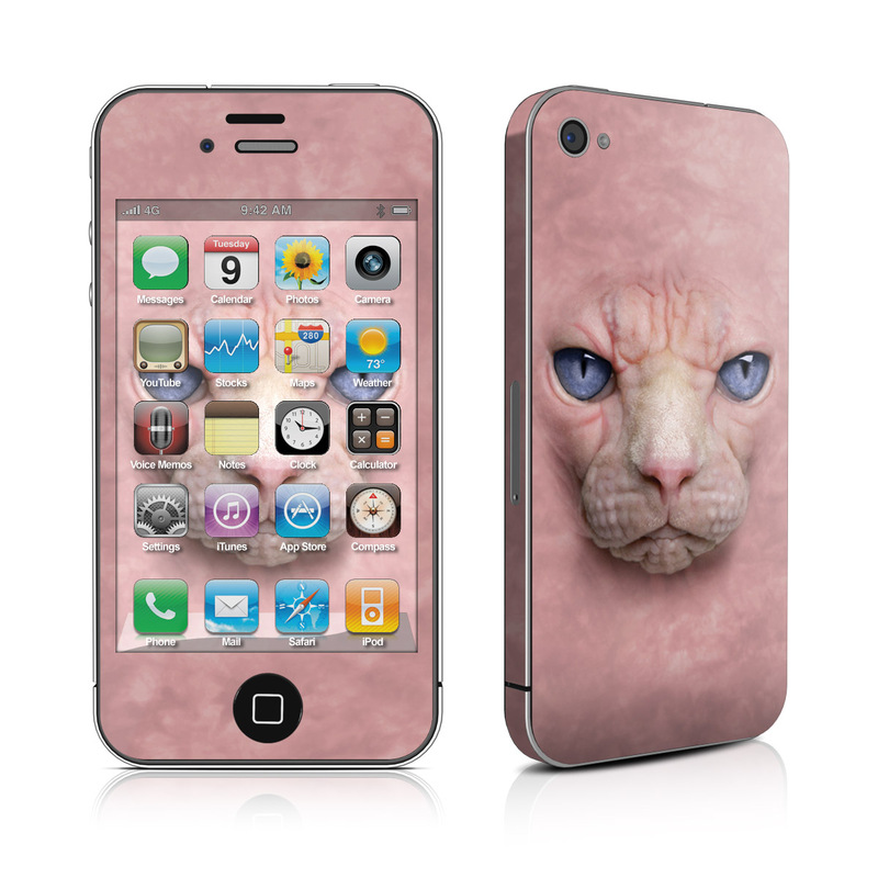 Hairless Cat iPhone 4s Skin