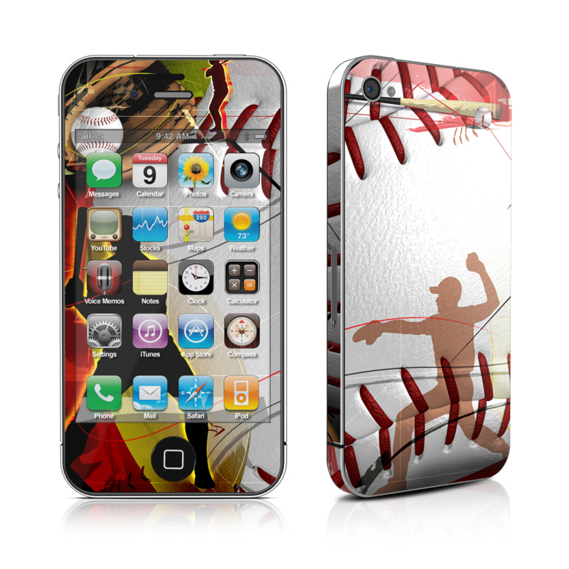 Home Run iPhone 4 Skin