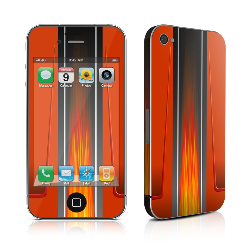 Hot Rod iPhone 4s Skin