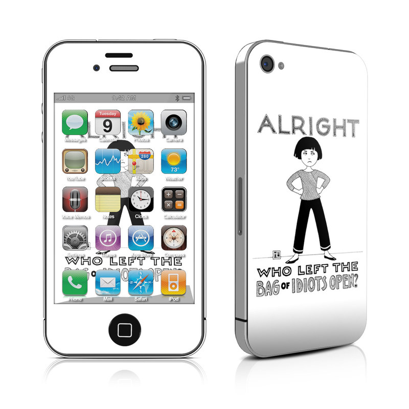 Bag of Idiots iPhone 4s Skin