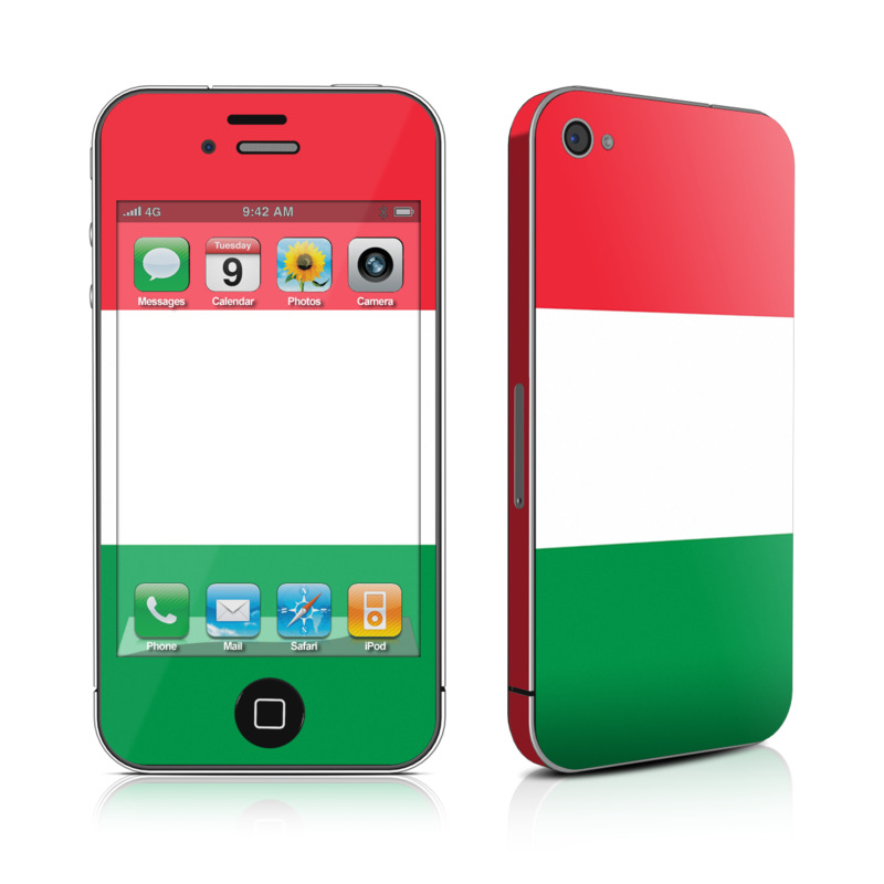 iPhone 4s Skin design of Green, Red, Pink, Turquoise, Material property, Magenta, Font, Rectangle, Pattern, Graphic design with white, red, green colors