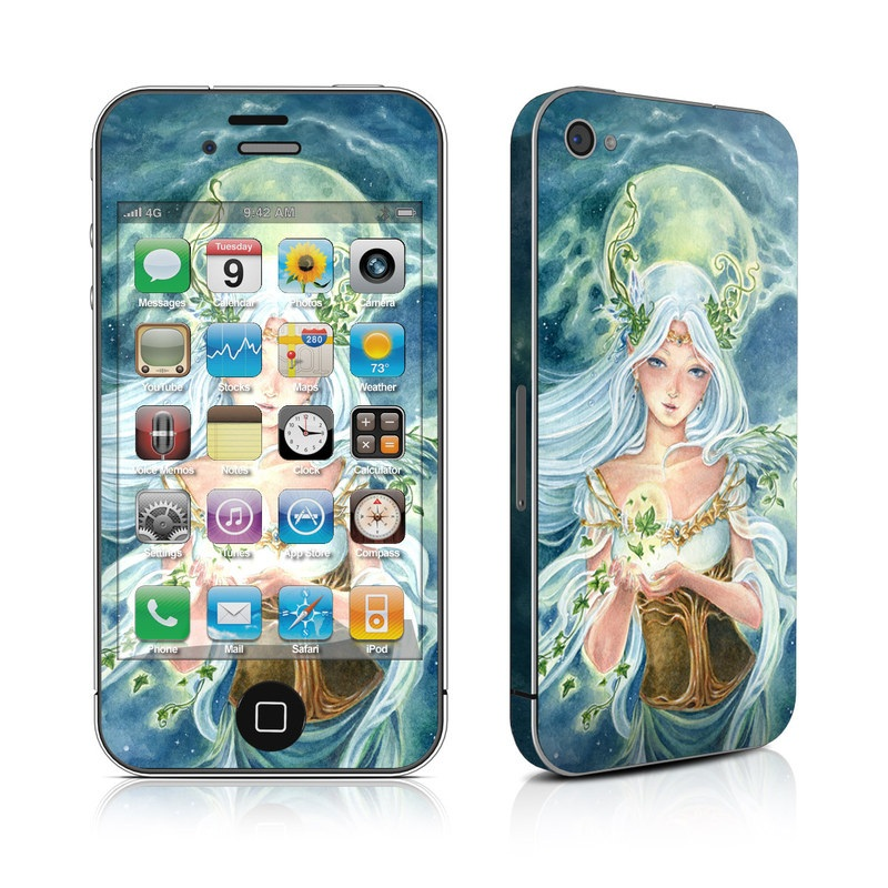 Ivy Goddess iPhone 4s Skin