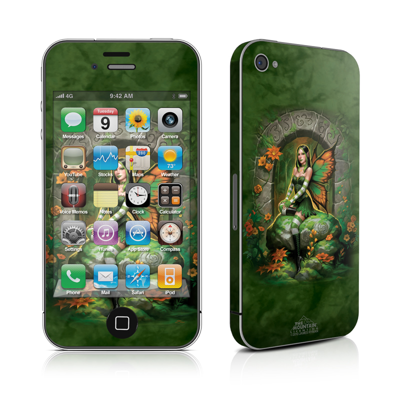 Jade Fairy iPhone 4s Skin