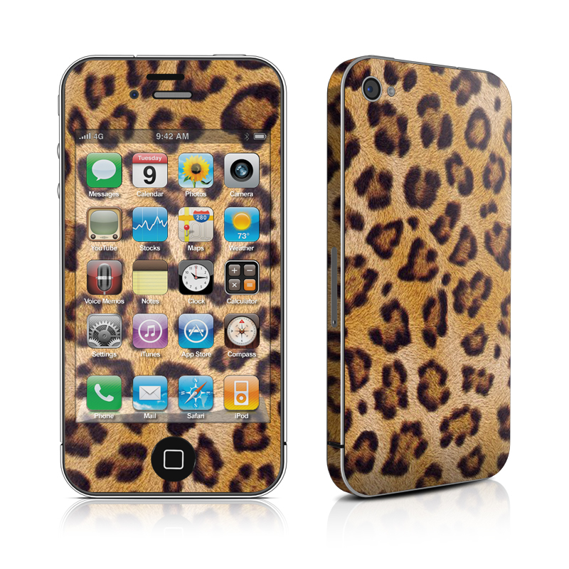 Leopard Spots iPhone 4 Skin