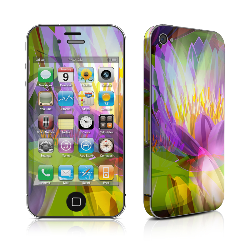Lily iPhone 4 Skin