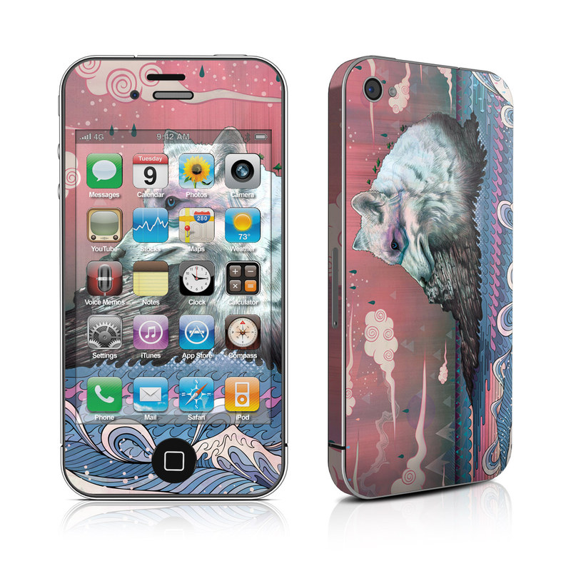Lone Wolf iPhone 4s Skin