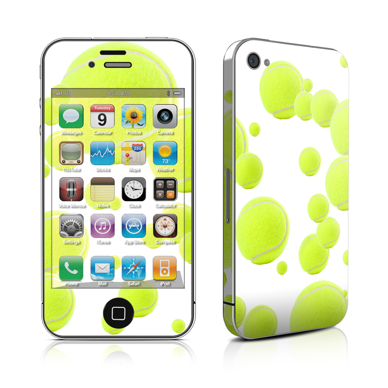 Lots of Tennis Balls iPhone 4 Skin