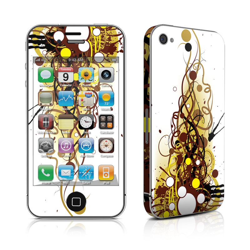 Mardi Gras iPhone 4 Skin