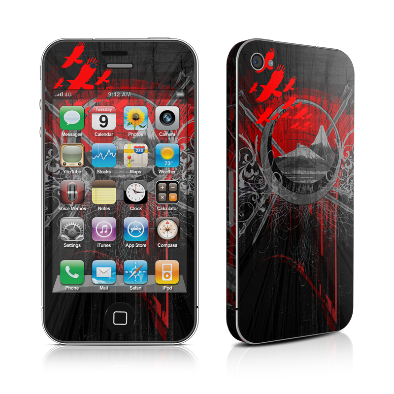 Mount Doom iPhone 4s Skin