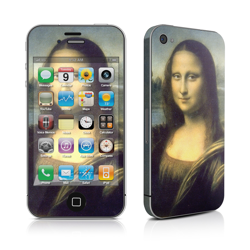 Mona Lisa iPhone 4s Skin