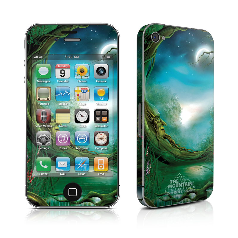 Moon Tree iPhone 4 Skin