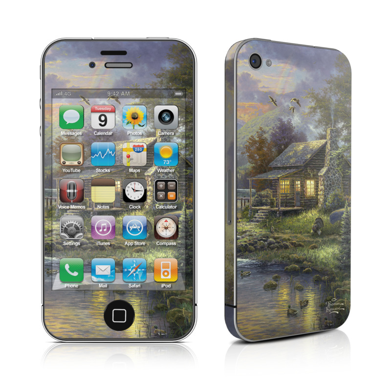 Natures Paradise iPhone 4 Skin
