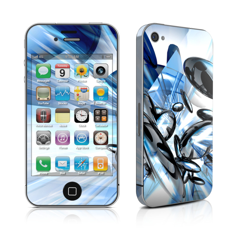 Cobalt Nexus iPhone 4 Skin