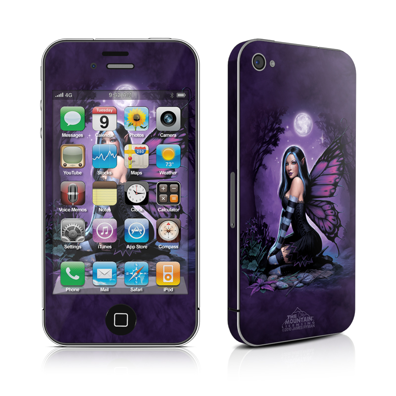 Night Fairy iPhone 4 Skin