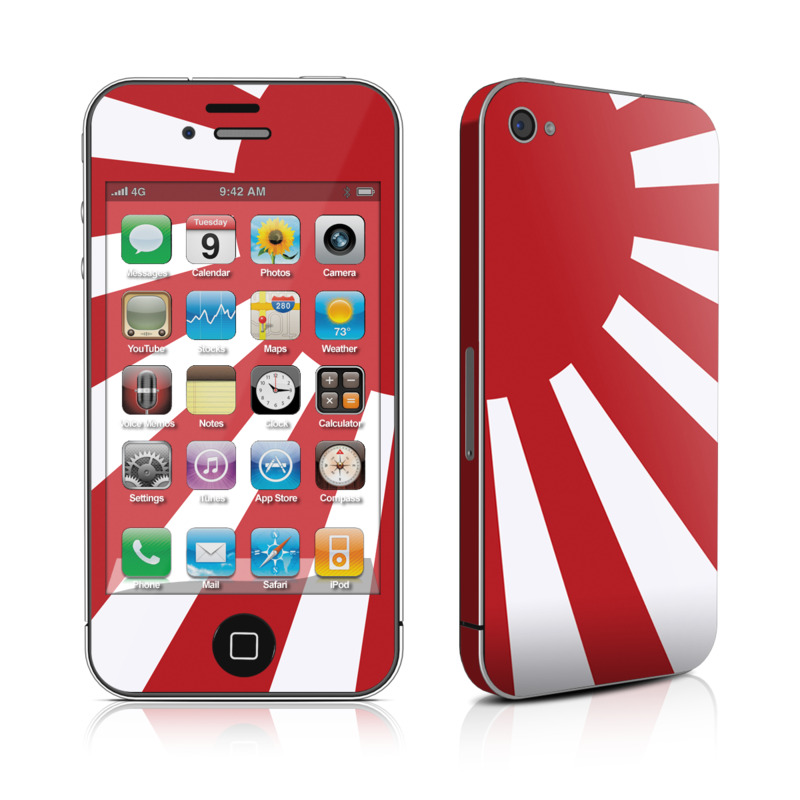 iPhone 4s Skin design of Red, Line, Flag, Pattern, Graphic design, Graphics, Clip art with red, white, gray colors