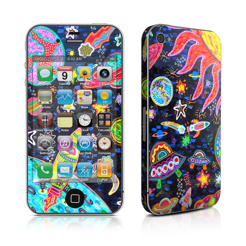 Out to Space iPhone 4s Skin
