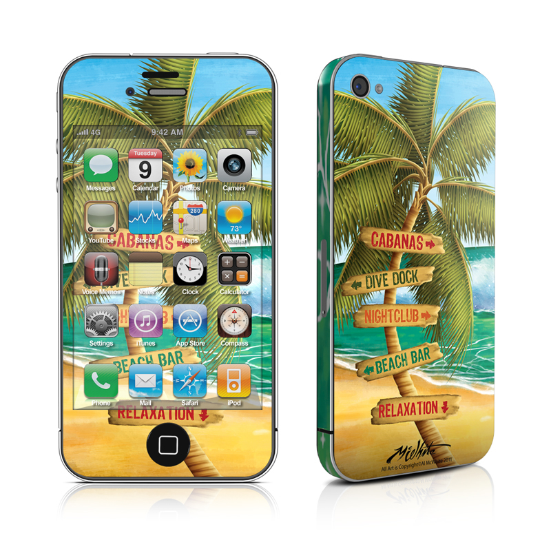 Palm Signs iPhone 4 Skin
