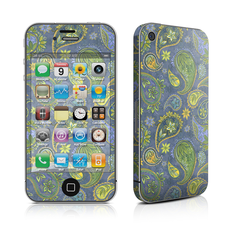 Pallavi Paisley iPhone 4 Skin