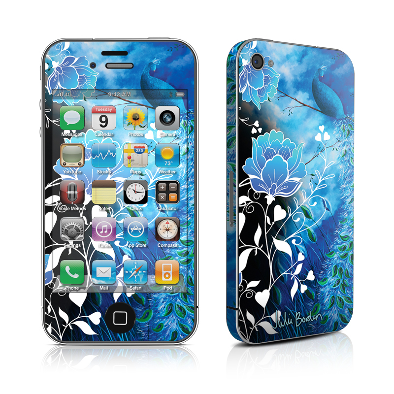 Peacock Sky iPhone 4s Skin