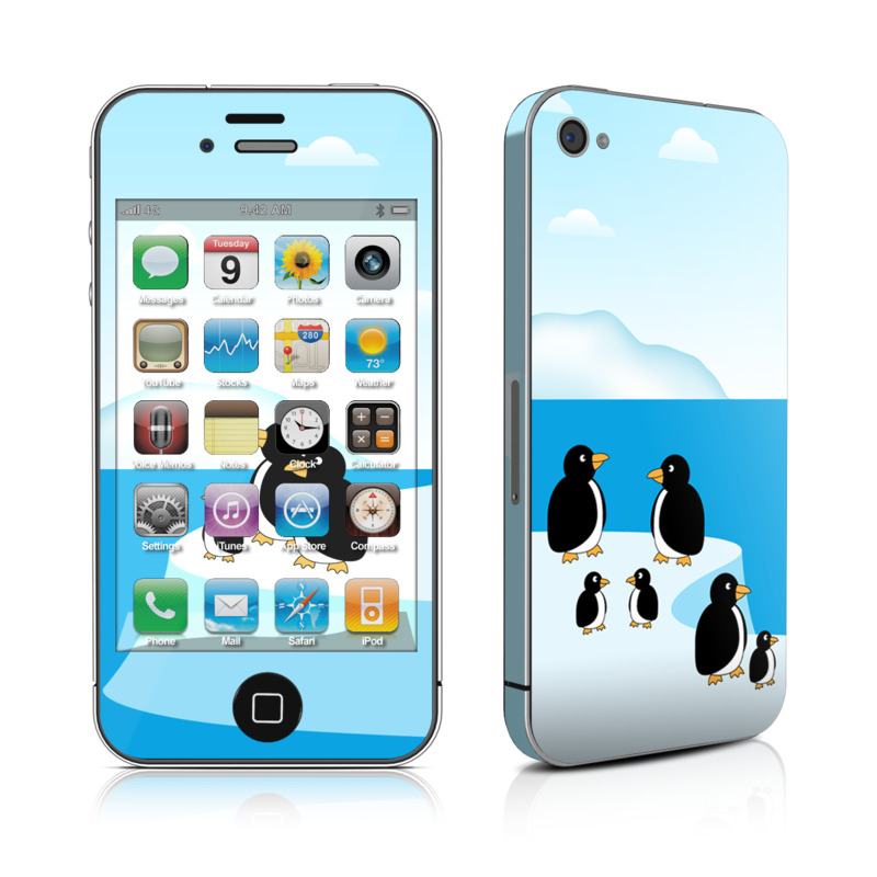 Penguins iPhone 4s Skin