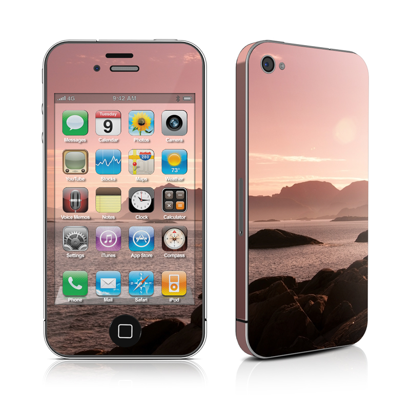 Pink Sea iPhone 4s Skin