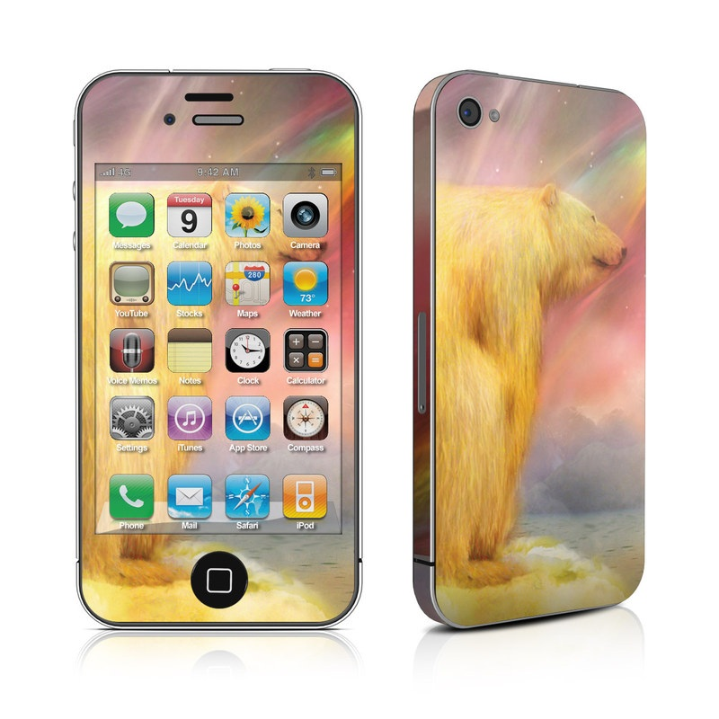 Polar Bear iPhone 4s Skin