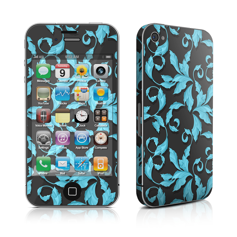 Relic Blue iPhone 4 Skin