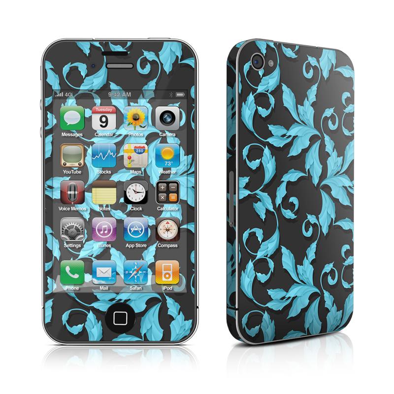 Relic Blue iPhone 4 Skin