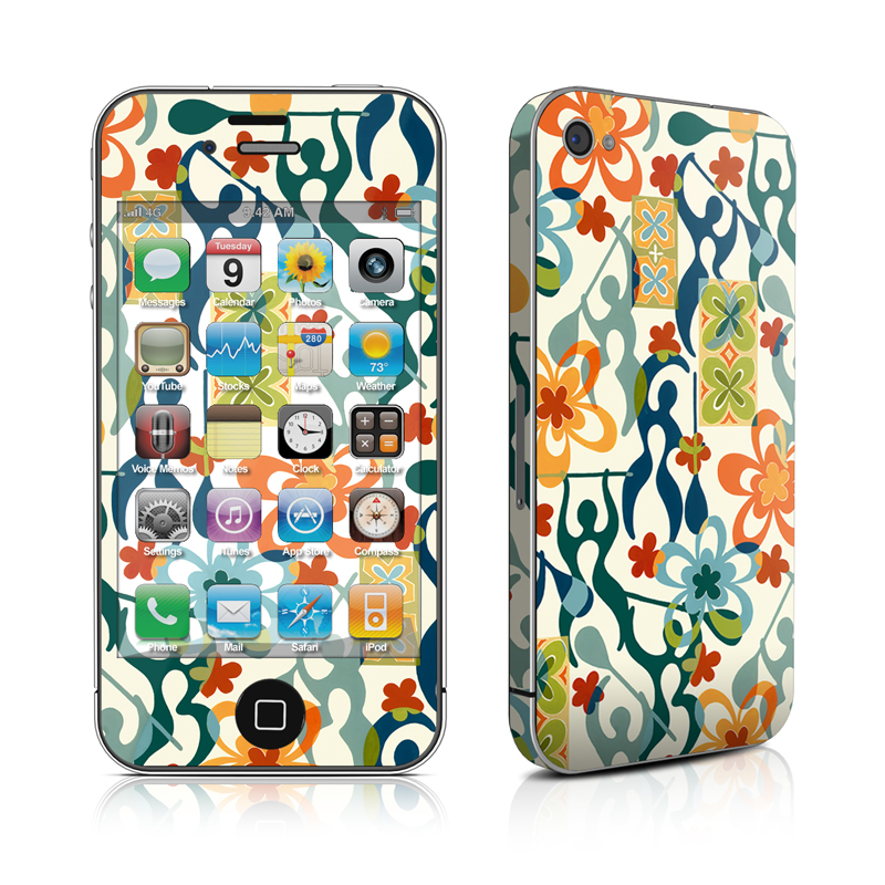 Retro Paddlers iPhone 4 Skin