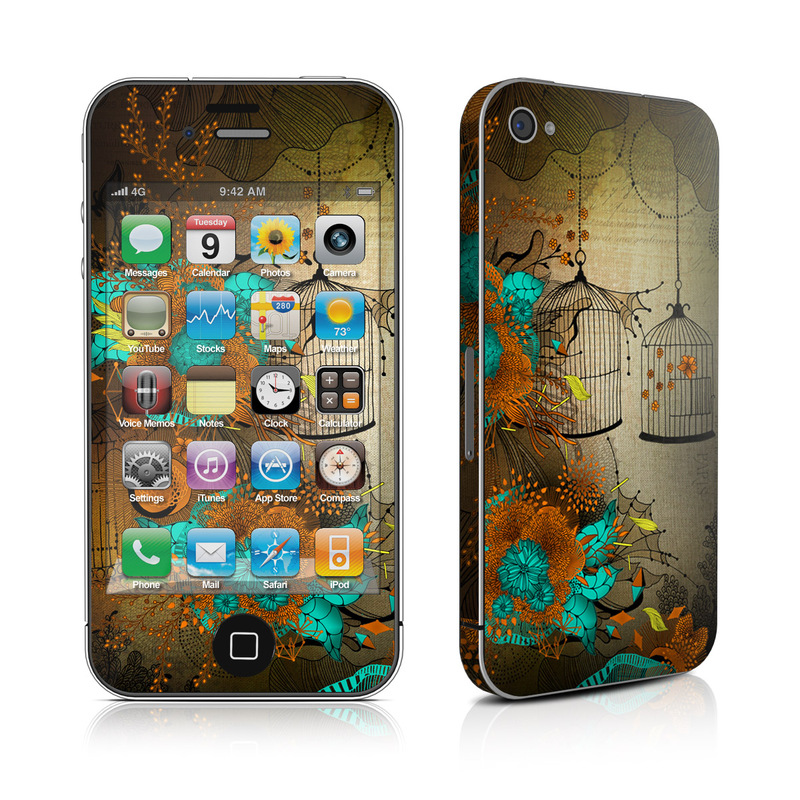 Rusty Lace iPhone 4s Skin