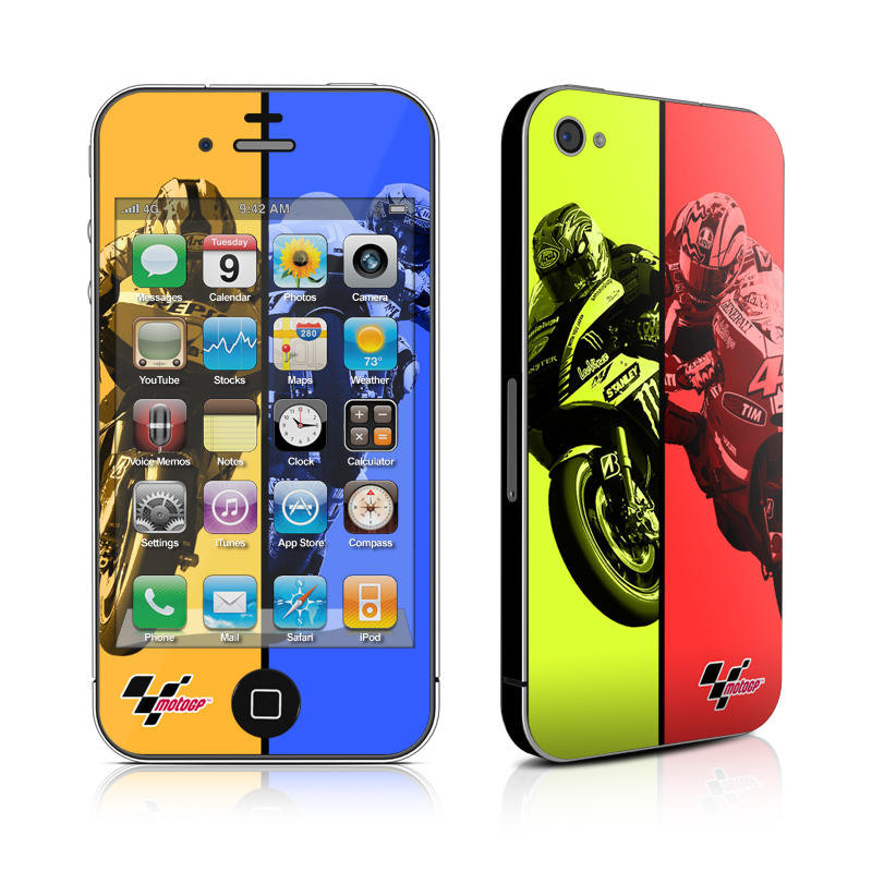 Race Panels iPhone 4s Skin