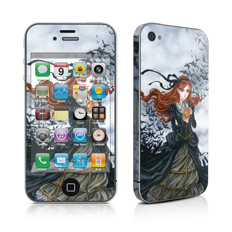 Raven's Treasure iPhone 4s Skin