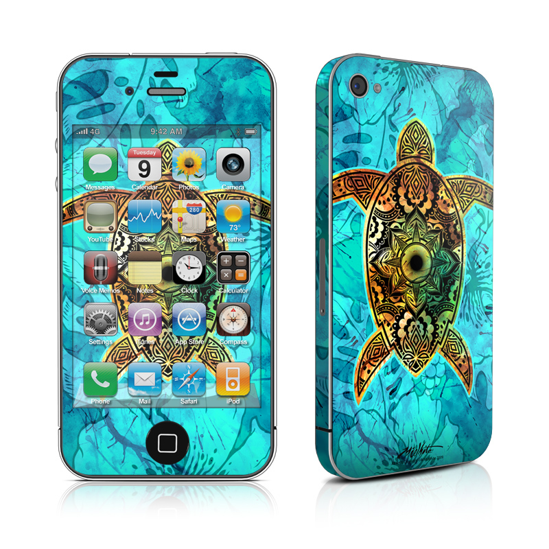 Sacred Honu iPhone 4s Skin
