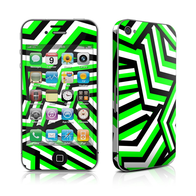 Shocking iPhone 4 Skin
