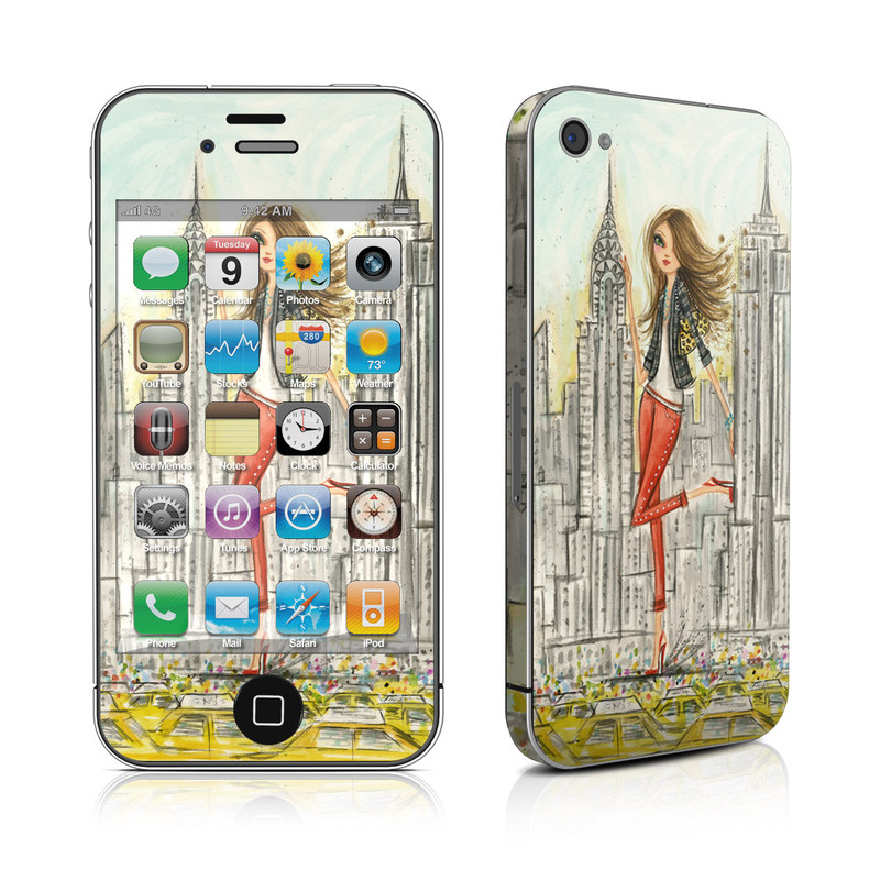 The Sights New York iPhone 4s Skin
