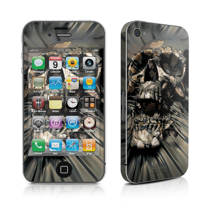 Skull Wrap iPhone 4 Skin
