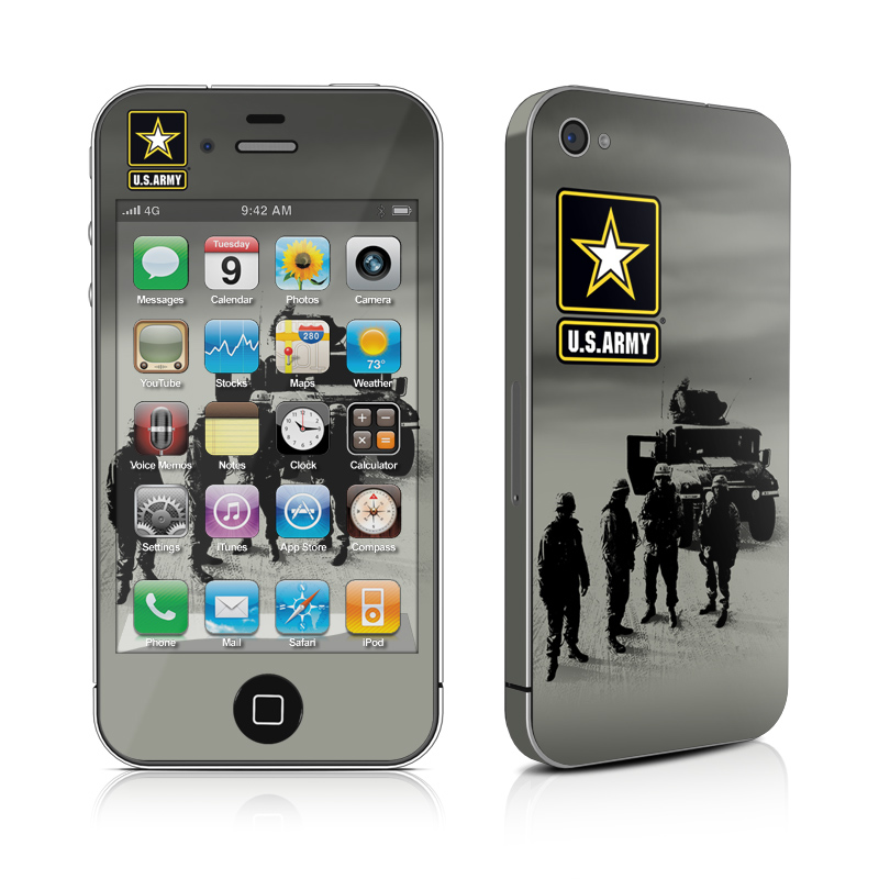 Soldiers All iPhone 4 Skin