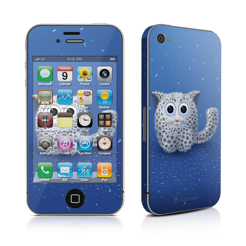 Snow Leopard iPhone 4s Skin