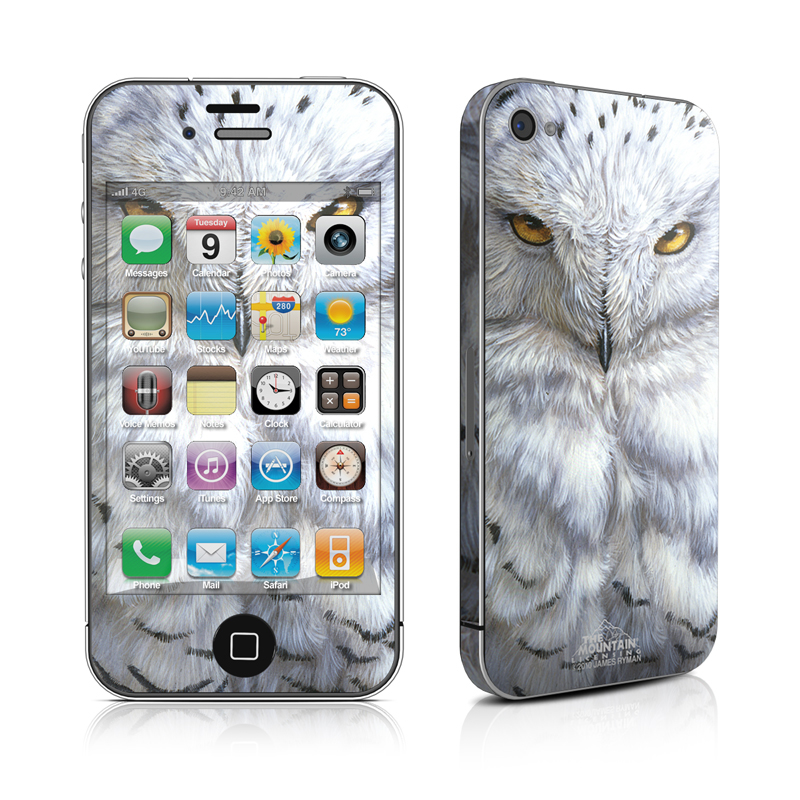 Snowy Owl iPhone 4s Skin