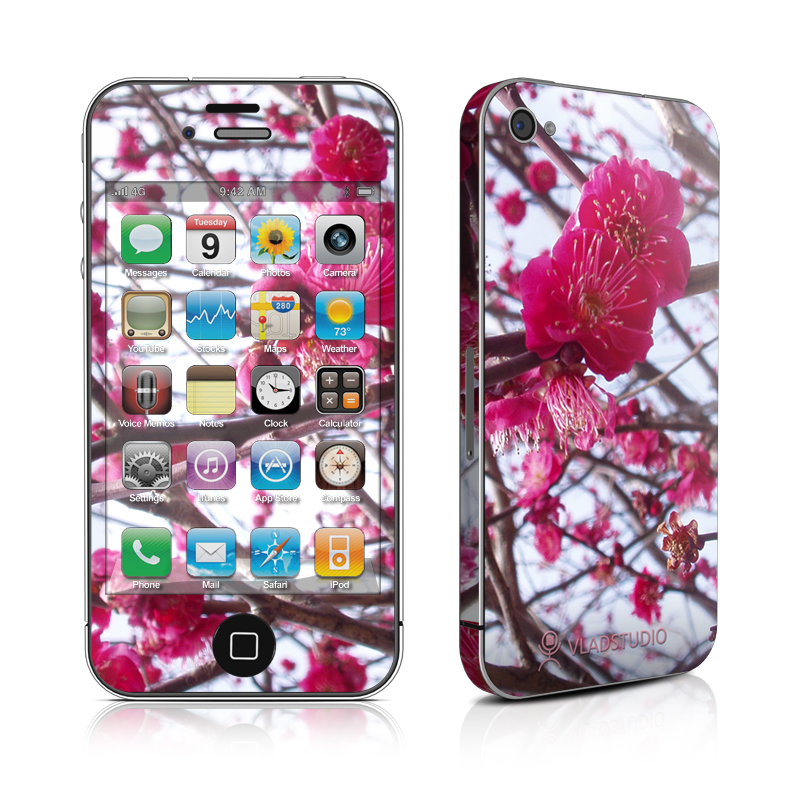 Spring In Japan iPhone 4 Skin
