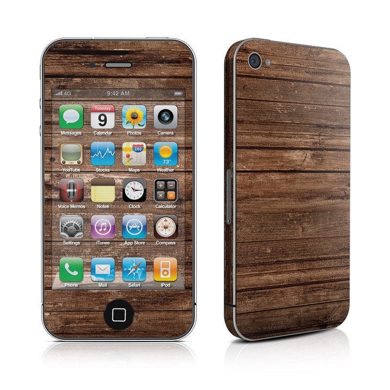 Stripped Wood iPhone 4s Skin