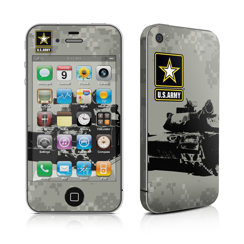 Tank Tuff iPhone 4 Skin