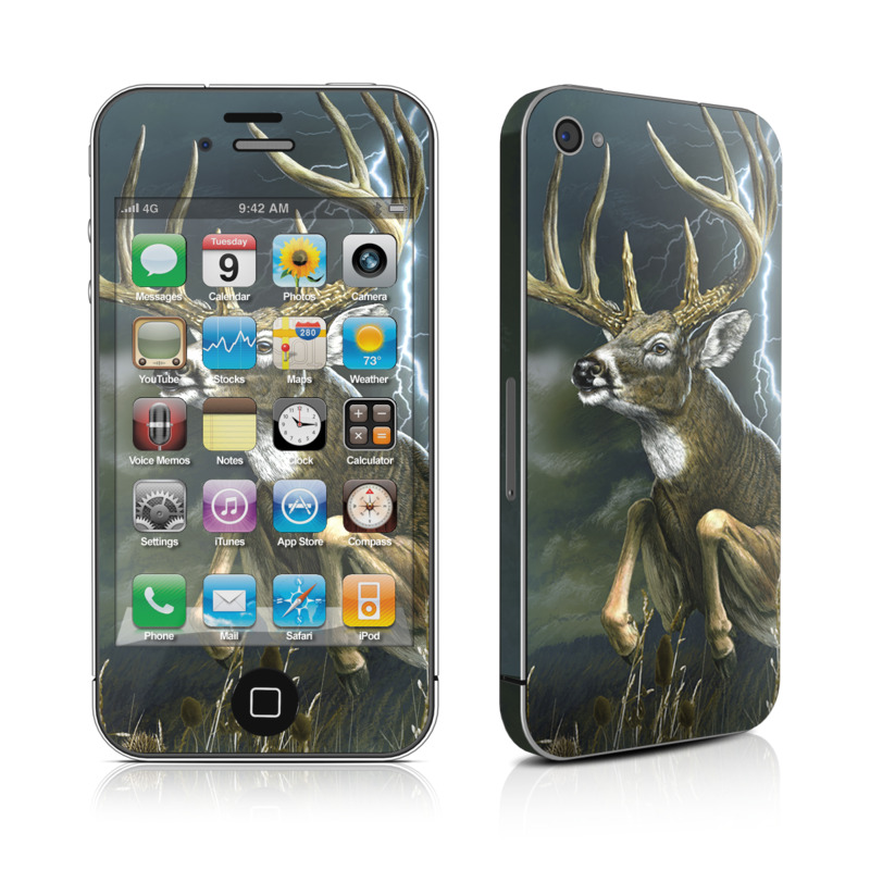 Thunder Buck iPhone 4s Skin